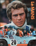 "Movie Posters:Sports, Le Mans (Cinema Center, 1971). Rolled, Near Mint. Gulf Promotional Poster (17"" X 22""). Sports.. ..."
