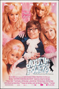 "Movie Posters:Comedy, Austin Powers: International Man of Mystery (New Line, 1997). Rolled, Very Fine+. One Sheets (2) (27"" X 41"") DS & SS, Regula... (Total: 2 Items)"
