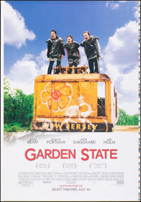 "Garden State & Other Lot (20th Century Fox, 2004). Rolled, Very Fine/Near Mint. Printer's Proof One Sheet (28""..."