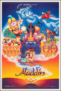"Movie Posters:Animation, Aladdin & Other Lot (Buena Vista, 1992). Rolled, Overall: Very Fine. One Sheets (2) (27"" X 41"") DS, John Alvin Artwork. Anim... (Total: 2 Items)"