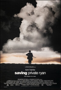 "Saving Private Ryan (Paramount, 1998). Rolled, Very Fine-. One Sheet (27"" X 40"") DS. War"