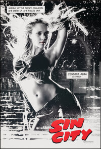 """Sin City (Dimension, 2005). Rolled, Very Fine/Near Mint. One Sheet (27"""" X 40"""") DS Advance, Nancy Style. Crime..."""