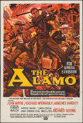 "Movie Posters:Western, The Alamo (United Artists, 1960). Folded, Very Fine-. Australian One Sheet (27"" X 40""). Western.. ..."