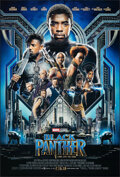"""Movie Posters:Action, Black Panther (Walt Disney Studios, 2018). Rolled, Very Fine/Near Mint. One Sheet (27"""" X 40"""") DS Advance. Action.. ..."""