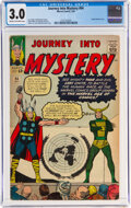 Silver Age (1956-1969):Superhero, Journey Into Mystery #94 (Marvel, 1963) CGC GD/VG 3.0 Cream to off-white pages....