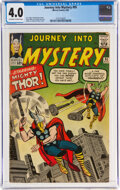 Silver Age (1956-1969):Superhero, Journey Into Mystery #95 (Marvel, 1963) CGC VG 4.0 Off-white to white pages....
