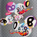 Prints & Multiples, Takashi Murakami (b. 1962). This World and the World Beyond, 2013. Offset lithograph in colors on smooth wove paper. 26-...