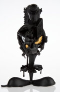 Collectible, Matt Gondek (20th century). Aggression (Black and Gold), 2018. Painted cast resin. 10 x 7 x 9 inches (25.4 x 17.8 x 22.9...