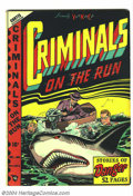 Golden Age (1938-1955):Crime, Criminals on the Run V4#4 (Curtis, 1948) Condition: VF+. L. B. Cole cover. Overstreet 2004 VF 8.0 value = $153; VF/NM 9.0 va...