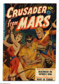 Golden Age (1938-1955):Science Fiction, Crusader from Mars #2 (Ziff-Davis, 1952) Condition: FN. Paintedbondage cover. Overstreet 2004 FN 6.0 value = $165....