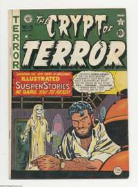 Crypt of Terror #19 (EC, 1950) Condition: VG. Johnny Craig cover. Al Feldstein, Graham Ingels, and Craig (two stories) a...