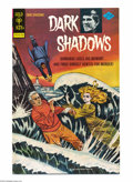 Bronze Age (1970-1979):Horror, Dark Shadows #32 File Copy (Gold Key, 1975) Condition: NM-. Pen andink cover, one of very few Gold Key adventure books not ...