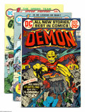 Bronze Age (1970-1979):Miscellaneous, DC Bronze Age Group (DC, 1972-79) Condition: Average VF+. Thisgroup includes The Demon #1 (VG/FN), First Issue Specia... (Total:25 Comic Books Item)