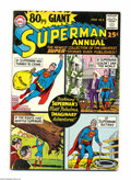 Silver Age (1956-1969):Superhero, 80 Page Giant #1 (DC, 1964) Condition: VG/FN. Superman appears. Curt Swan cover art. Al Plastino, Curt Swan, and Jim Mooney....