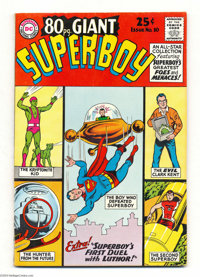 80 Page Giant #10 Superboy (DC, 1965) Condition: FN. Curt Swan cover. Swan, John Sikela, George Papp, and Al Plastino ar...