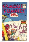 Golden Age (1938-1955):Science Fiction, Famous Funnies #217 (Eastern Color, 1955) Condition: FN-. FeaturingBuck Rogers. Overstreet 2004 FN 6.0 value = $24....