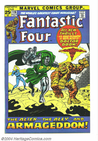 Fantastic Four #116 (Marvel, 1971) Condition: NM-. John Buscema art. Giant issue (52 pages). Overstreet 2004 NM- 9.2 val...