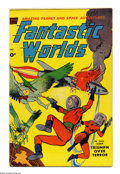 Golden Age (1938-1955):Science Fiction, Fantastic Worlds Lot (Standard, 1952). This group contains issue #5(qualified VG+) which features art by Alex Toth and Murp... (Total:2 Comic Books Item)