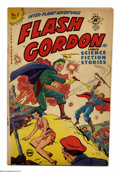 Golden Age (1938-1955):Science Fiction, Flash Gordon #2 (Harvey, 1950) Condition: VG-. Alex Raymond art.(Reprints). Overstreet 2004 VG 4.0 value = $48....