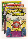 Golden Age (1938-1955):Horror, Forbidden Worlds Group (ACG, 1958-63). This group contains #62 (GDcondition), 112 (VG+ condition), and 113 (VG+ condition)....(Total: 3 Comic Books Item)