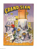 Golden Age (1938-1955):War, Grand Slam Comics (Canadian) #53 (Anglo-American Publishing Co.,1946) Condition: VG+. Canadian original featuring Commander...