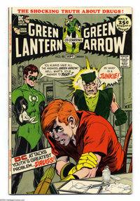 Green Lantern #85 (DC, 1971) Condition: VF/NM. Anti-drug issue. Neal Adams cover. Adams and Gil Kane art. Overstreet 200...