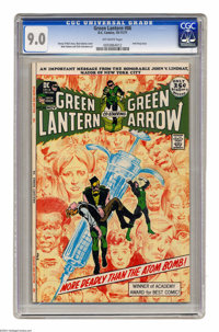 Green Lantern #86 (DC, 1971) CGC VF/NM 9.0 Off-white pages. Anti-drug issue. Neal Adams cover and art. Overstreet 2004 V...