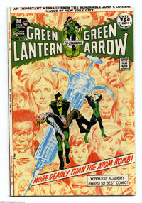 Green Lantern #86 (DC, 1971) Condition: VF/NM. Anti-drug issue. Golden Age Green Lantern reprint story. Neal Adams cover...