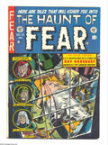 Golden Age (1938-1955):Horror, Haunt of Fear #16 (EC, 1952) Condition: FN. Features E.C.'s firstauthorized Ray Bradbury adaptation. Graham Ingels cover. I...