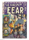 Golden Age (1938-1955):Horror, Haunt of Fear #19 (EC, 1953) Condition: FN. Used in Seduction ofthe Innocent. Graham Ingels bondage/decapitation cover....