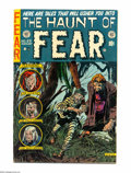 Golden Age (1938-1955):Horror, Haunt of Fear #23 (EC, 1954) Condition: VG/FN. Used in Seduction ofthe Innocent. Graham Ingels cover. Ingels, George Ev...