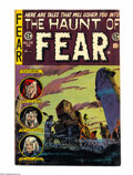 "Golden Age (1938-1955):Horror, Haunt of Fear #28 (EC, 1954) Condition: FN+. Overstreet notes ""LowDistribution"" for this final issue of the series. Cover b..."