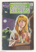 Bronze Age (1970-1979):Horror, House of Secrets #92 (DC, 1971) Condition: VG. First appearance ofSwamp Thing. Classic cover. Bernie Wrightson cover. Wrigh...
