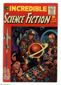 Golden Age (1938-1955):Horror, Incredible Science Fiction #30 (EC, 1955) Condition: FN-. Firstissue, formerly Weird Science-Fantasy. Jack Davis, Joe O...