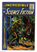 Golden Age (1938-1955):Science Fiction, Incredible Science Fiction #31 (EC, 1955) Condition: FN+. JackDavis cover art. Interior art by Wally Wood, Al Williamson, B...