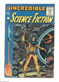 Golden Age (1938-1955):Science Fiction, Incredible Science Fiction #33 (EC, 1956) Condition: FN. Wally Woodcover with interior art by Jack Davis, Bernard Krigstein...