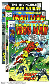 Iron Man #40-44 Group (Marvel, 1971-72) Condition: Average VF/NM. Artists include George Tuska. Approximate Overstreet v...