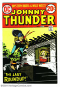 Bronze Age (1970-1979):Western, Johnny Thunder #1 (DC, 1973) Condition: NM-. Alex Toth cover. Toth and Ruben Moreira art. Overstreet 2004 NM- 9.2 value = $2...