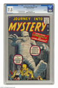 Silver Age (1956-1969):Horror, Journey Into Mystery #61 Bethlehem pedigree (Marvel, 1960) CGC VF-7.5 Off-white to white pages. The great Jack Kirby and Di...