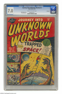 Journey Into Unknown Worlds #5 Bethlehem pedigree (Atlas, 1951) CGC FN/VF 7.0 Cream to off-white pages. Mike Sekowsky ar...