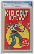 Golden Age (1938-1955):Western, Kid Colt Outlaw #3 (Marvel, 1948) CGC VF+ 8.5 Off-white pages. Syd Shores cover. Russ Heath art. Overstreet 2004 VF 8.0 valu...