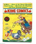 Platinum Age (1897-1937):Miscellaneous, King Comics #8 (David McKay Publications, 1936) Condition: VG-.Featuring Popeye. One-inch spine split, top and bottom. Over...
