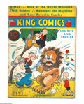 Platinum Age (1897-1937):Miscellaneous, King Comics #12 (David McKay Publications, 1937) Condition: GD.Featuring Popeye. Severe staple rust. Overstreet 2004 GD 2.0...