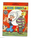 Platinum Age (1897-1937):Miscellaneous, King Comics #19 (David McKay Publications, 1937) Condition: VG+. Featuring Popeye. Overstreet 2004 VG 4.0 value = $138....