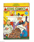 Platinum Age (1897-1937):Miscellaneous, King Comics #21 (David McKay Publications, 1937) Condition: VG.Christmas cover. Featuring Popeye. Overstreet 2004 VG 4.0 va...