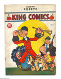 Golden Age (1938-1955):Cartoon Character, King Comics #32 (David McKay Publications, 1938) Condition: GD/VG.Featuring Popeye. Overstreet 2004 GD 2.0 value = $40; VG ...