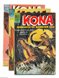 Silver Age (1956-1969):Adventure, Kona #11-19 Group (Dell, 1964-66) Condition: Average VG/FN. This group consists of issues #11, 12, 13, 14, 15, 16, 17, 18, a... (Total: 9 Comic Books Item)