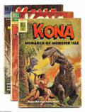 Silver Age (1956-1969):Adventure, Kona Group (Dell, 1962-64). This group consists of 10 comics: Four Color #1256 (FR) (Overstreet considers this to be iss... (Total: 10 Comic Books Item)