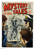 Silver Age (1956-1969):Mystery, Mystery Tales #38 (Atlas, 1956) Condition: Apparent FN. Color touchon front cover, water spot on back cover. Overstreet 200...