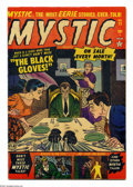 Golden Age (1938-1955):Horror, Mystic #11 (Atlas, 1952) Condition: VF-. Artists include JohnRomita Sr. Overstreet 2004 VF 8.0 value = $164....